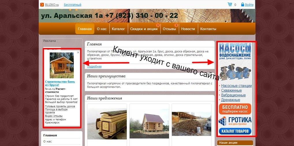 Аудит сайта по деревообработке