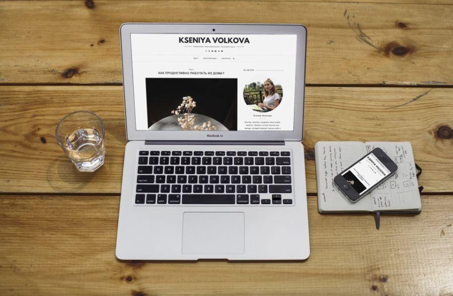 Сайт для блоггера